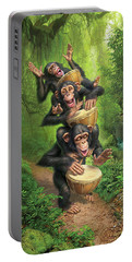 Bongo In The Jungle Portable Battery Charger