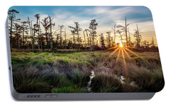Portable Battery Charger featuring the photograph Bonnet Carre Sunset by Andy Crawford