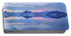 Portable Battery Charger featuring the photograph Bonneville Lake by Chad Dutson