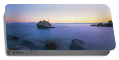 Bonsai Rock Sunset Portable Battery Charger