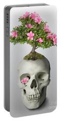 Bonsai Skull Portable Battery Charger