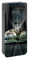Book Of Enlightenment  Portable Battery Charger