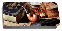 Books And Bullets Portable Battery Charger