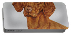 Boomer The Vizsla Portable Battery Charger