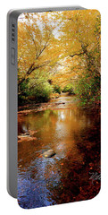 Portable Battery Charger featuring the photograph Boone Fork Stream by Meta Gatschenberger