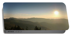 Boone Nc Area Sunset Portable Battery Charger