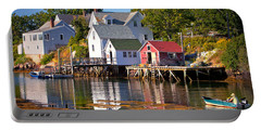 Boothbay  Maine Portable Battery Charger