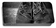 Boots Portable Battery Charger by Joseph Skompski