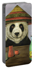 Boozer 4 Portable Battery Charger by Leah Saulnier The Painting Maniac