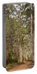 Portable Battery Charger featuring the photograph Boranup Drive Karri Trees by Ivy Ho
