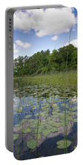Borden Lake Lily Pads Portable Battery Charger