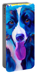 Border Collie - Jinx Portable Battery Charger