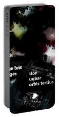 Borges Tlon Poster  Portable Battery Charger