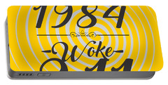 Born Into 1984 - Woke 9.11 Portable Battery Charger