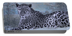 Born To Be Free Portable Battery Charger by Mary Lou Chmura