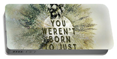 Born To Pay Bills Portable Battery Charger