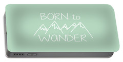 Born To Wander Portable Battery Charger