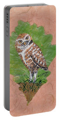 Borrowing Owl Portable Battery Charger
