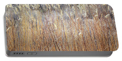 Portable Battery Charger featuring the photograph Bosque Desert Willows by Andrea Hazel Ihlefeld