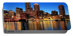 Boston Aglow Portable Battery Charger by Rick Berk