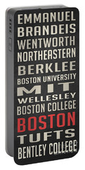 Boston Collegetown Portable Battery Charger by Edward Fielding
