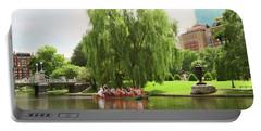 Boston Garden Swan Boat Portable Battery Charger