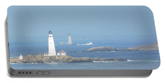 Boston Harbor Lighthouses Portable Battery Charger