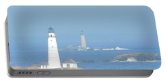 Boston Harbors Lighthouses Portable Battery Charger