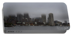 Boston In The Fog Portable Battery Charger