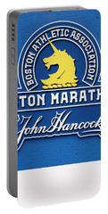 Portable Battery Charger featuring the photograph Boston Marathon - Boston Athletic Association by Joann Vitali