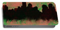 Boston Skyline Green  Portable Battery Charger