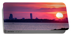 Boston Skyline Worlds End Portable Battery Charger