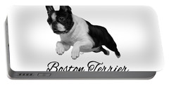 Boston Terrier Portable Battery Charger