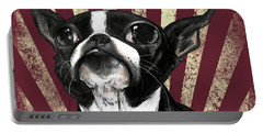 Boston Terrier Revolution Portable Battery Charger