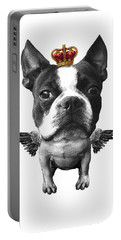 Boston Terrier, The King Portable Battery Charger