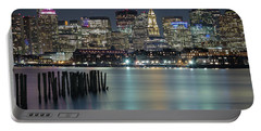 Boston's Skyline From Lopresti Park Portable Battery Charger