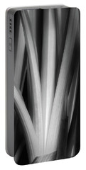 Botanical Abstract II Portable Battery Charger
