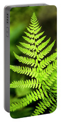 Botanical Fern Portable Battery Charger