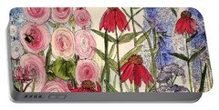Botanical Wildflowers Portable Battery Charger