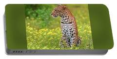 Botswana Leopard  Portable Battery Charger