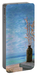 Bottle And Sea Oats Portable Battery Charger
