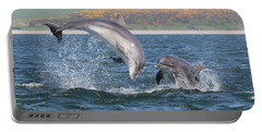 Bottlenose Dolphin - Moray Firth Scotland #49 Portable Battery Charger