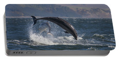Bottlenose Dolphins - Scotland  #25 Portable Battery Charger
