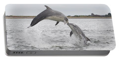 Bottlenose Dolphins - Scotland #1 Portable Battery Charger