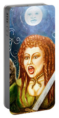 Boudicca  Let Not Our Daughters Be Forgotten Portable Battery Charger