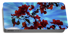 Bougainvillea At Joe's Secret Garden Iv Portable Battery Charger