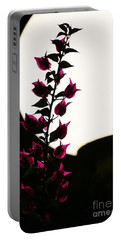 Portable Battery Charger featuring the photograph Bougainvillea By Lamplight by Craig Wood