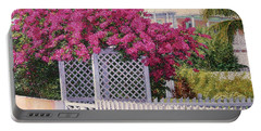 Bougainvillea Crown Portable Battery Charger