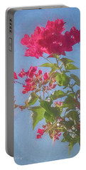 Bougainvillea Morning Portable Battery Charger