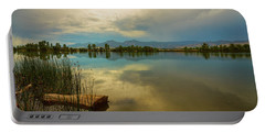 Portable Battery Charger featuring the photograph Boulder County Colorado Calm Before The Storm by James BO Insogna